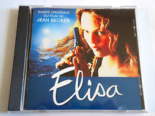 ELISA Original Soundtrack CD 1995 VANESSA PARADIS SERGE GAINSBOURG PIERRE HENRY