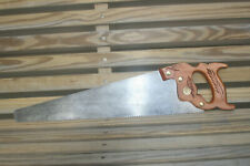 """FINE Henry Disston & Sons No 23 10 Pt 20"""" Rip Hand Saw Inv#HB47"""