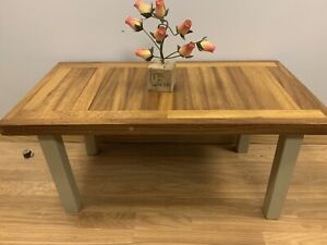 Hand Made Solid Wood Iroko African Teak coffee table