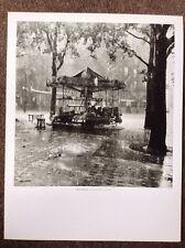 Robert Doisneau PRINT Vintage 2004 Photography Art Paris Merry-Go-Round Barre's