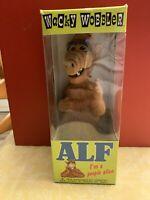 ALF alien TV show bobble head original box, never opened advertising 1986 toy.