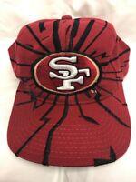 Vintage 90s Starter San Francisco 49ers Shockwave Snapback Hat Cap