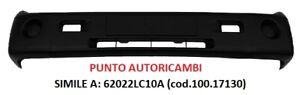 PARAURTI ANTERIORE NISSAN CABSTAR 2013-> NERO S/FORI FENDI NUOVO (100.17130)