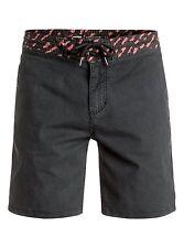 "Quiksilver Street Slasher Street Shorts Black 18"" Sz 32 EQYWS03355"
