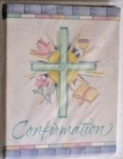 COMMUNION BAPTISM CONFIRMATION INVITATION CARDS 8 WITH ENVELOPES CMY OTHER ITEMS