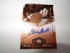 2004-05 UD Legendary Signatures on card Auto #SC Steve Shutt
