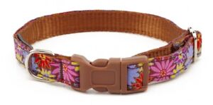 Douglas Paquette GERBERS Nylon Ribbon Adjustable Dog Collars Harnesses