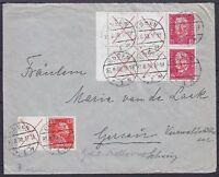 DR ZD W 23, W 30.3 2x MiF Brief Essen - Gersau 23.08.1930, Zusammendruck