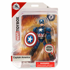 Disney Store Captain America Action Figure Marvel Toybox New