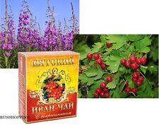 Herbal IVAN TEA with hawthorn, 100 gr, slimming, иван-чай боярышник, Russia