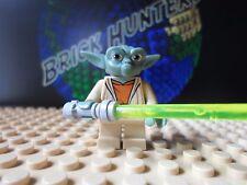 LEGO® Star Wars™ Master Yoda Jegi minifig w/ lightsaber - Lego 8018 7964