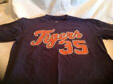 Detroit Tigers 35 Verlander Mens T-shirt Size M