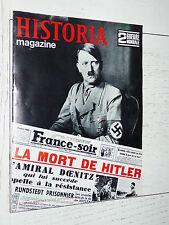 HISTORIA 2ème GUERRE MONDIALE 39-45 MORT HITLER BUNKER ROYAN ST-NAZAIRE LORIENT