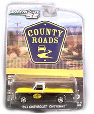 "Greenlight: 1972 Chevy Cheyenne ""Pennzoil"" Truck 1/64 Scale"