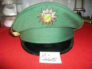 VINTAGE ALKERO GERMAN MILITARY POLICE FIELD CRUSH HAT/CAP ALBERT KEMPF KG BRAND