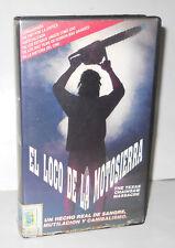 RARE VHS THE TEXAS CHAINSAW MASSACRE - MOVIE HORROR , TERROR , GORE VHS VARIANT