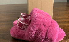 Ugg Toddlers/ Fluff Yeah Slide Side 10 Fusion 1098579T Authentic Brand New