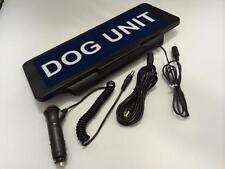 LED Univisor DOG UNIT Sign visor flash
