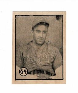 '45-46 Orig Cuban Baseball FELICES Card Pitcher SALVATORE SAL MAGLIE Cienfuegos