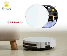 Robotic Vacuum Cleaner App Control  5in1 Wet/Dry Sweeping Mopping Cleaning Robot