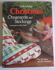 Christmas Ornaments and Stockings hc book crafts