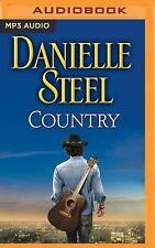 Country by Danielle Steel (2016, MP3 CD, Unabridged)