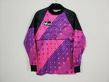 Vintage Uhlsport Pro Women's Soccer Goalie Padded Jersey Size Large Pink Purple