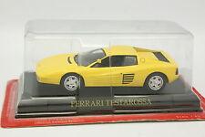 Ixo Presse 1/43 - Ferrari Testarossa Jaune