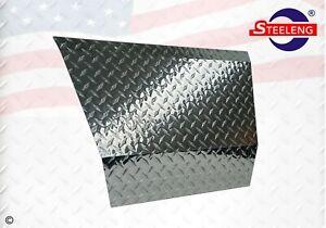 Polished Aluminum Diamond Plate Front Shock Bumper Cover for EZGO TXT Golf Cart