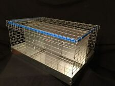 New 6-Hole Rabbit Cage /chickens/ Bunny Transport show fair cage 16 X 24 X 11