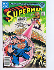 Superman #308 DC Pub 1977 This Planet is Mine! Neal Adams Cover