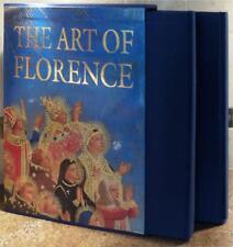 ART OF FLORENCE ~ 2 VOLUME SLIPCASED GIFT ED ~ GLEN M. ANDRES ~ PROFUSELY ILLUS