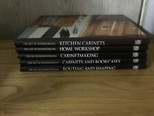5 Time Life Books The Art of Woodworking 5 Books