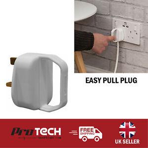 Easy Pull Mains Plug Mobility Arthritis Aid 13 Amp Disability Elderly Kids Tool