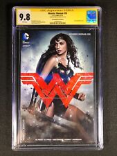 Wonder Woman #50 CGC 9.8 SS (2016) - Convention Photo Edition - Signed Gal Gadot