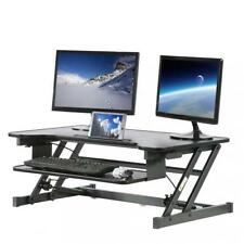 Adjustable Height Standing Desk, Office Stand Up Desk Optional Standing Desk Mat