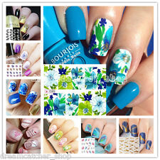 Uñas Pegatinas Consejos Transferencia de Manicura Nail Art Stickers Decoración