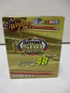 2008 Winner's Circle Daytona 500 50 Years Jimmie Johnson 1/64 2 Car Set