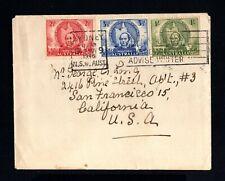 14615-AUSTRALIA-OLD COVER SYDNEY to CALIFORNIA (usa).1946.WWII.BRITISH.
