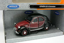 Welly 1/24 - Citroen 2CV 6 Charleston