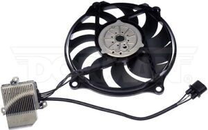 Dorman 621-449 Radiator Fan Assembly With Controller For 06-10 Volkswagen Beetle