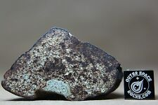 NWA Unclassified Meteorite 32.2 gram windowed individual with incredible feature