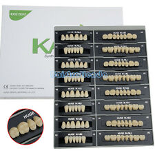 Dental 28Pcs A2-T6 Synthetic Resin Polymer Teeth KAILI Denture L6,32U,32L FDA CE