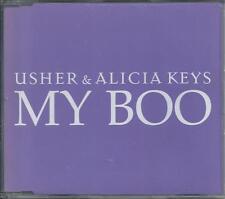 USHER & ALICIA KEYS - My boo PROMO CD SINGLE 2TR EU Print 2004 RARE!