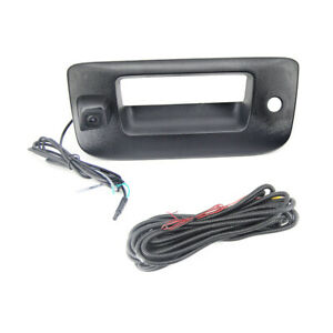 Tailgate Handle Backup View Camera for 2007-2013 Chevrolet Silverado GMC Sierra