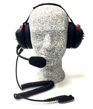 High Noise Headset for Motorola HT750, HT1250 Radio, Behind-the-head Model