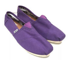 Toms Purple Canvas Pumps eu 39 Classic Style barely used