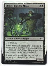 MTG Unstable Common Foil Steady-Handed Mook, M-NM, NBP