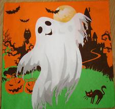 paper napkins Halloween, ghost,black cat, pumpkins serviette,33cm-2pcs,decoupage