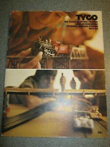 Tyco HO Gauge 1971-72 Catalogue